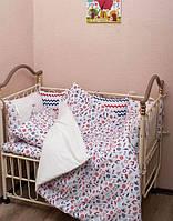 Детский набор постельного белья + бортики «Моряк»