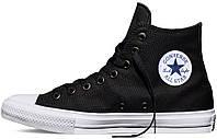 Мужские кеды Converse Chuck Taylor All Stars II High Black (Оригинал!!!), конверс