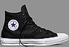 Мужские кеды Converse Chuck Taylor All Stars II High Black Оригинал, Конверс Ол Стар, фото 3