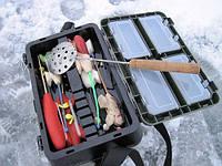 Выбор ящика для зимней рыбалки