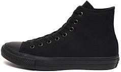 Мужские кеды Converse Chuck Taylor All Stars II High All Black (Оригинал)