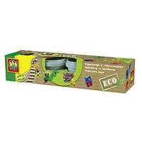 Незасыхающая масса для лепки - серии ЭКО (4 цвета, упаковка - пластиковые баночки) (24911S)