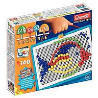 Набор для занятий мозаикой (10 мм фишки (140 шт.) + доска  22х16, переносной) (0922-Q)