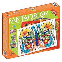Набор для занятий мозаикой (10-15-20 мм фишки (280 шт.) +  доска (28х20, переносной) (0950-Q)