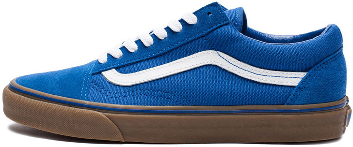 Мужские кеды Vans Old Skool Blue Gum, Ванс Олд Скул