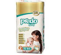 Подгузники Predo Baby MINI 2 Twin (3-6 кг), 44 шт.
