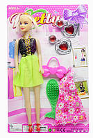 Кукла с одежками и аксессуарами 27см 829-1