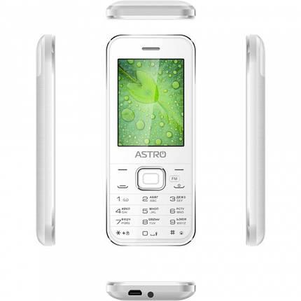 Мобильный телефон ASTRO A240 White, фото 2