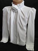 Школьные блузы белого цвета