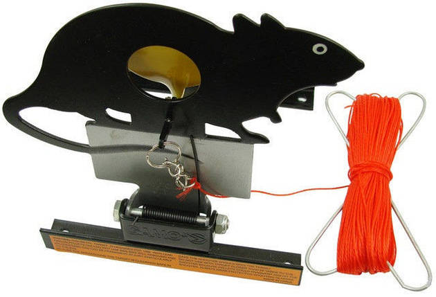 Мишень Gamo Rat Target. Мишень Крыса. Интересные мишени для стрельбы. Мишень для пневматики, фото 2