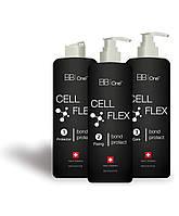 Cell Flex набор 3 по 250мл - средство для защиты волос во время химических процедур