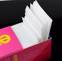 Безворсовые салфетки для маникюра маленькие проф упаковка