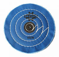 Круг муслиновый d-150 мм, 50 слоев синий (твердый)