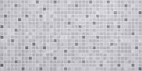 """Листовая панель ПВХ Регул мозаика """"Серый микс"""" 0,3мм 955*488мм"""