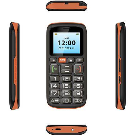 Мобильный телефон ASTRO B181 Black/Orange, фото 2