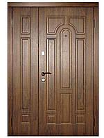 Двери входные 110 полуторные серии Стандарт ТМ Каскад
