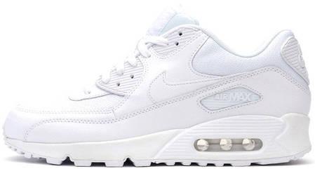 a8aa78f87521 Женские кроссовки Nike Air Max 90 Essential All White купить в ...