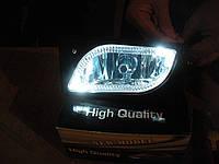 Противотуманные фары на ВАЗ 2110 с ангельскими глазками., фото 1