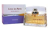 Женская Парфюмированная Вода NINA RICCI LOVE IN PARIS 50 мл