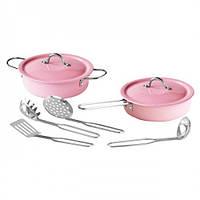 Игровой набор кухонной эмалированной посуды из нержавеющей стали. Champion (CH92008)