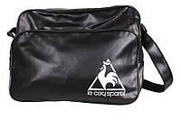 Спортивная сумка Le Coq Sportif черного цвета