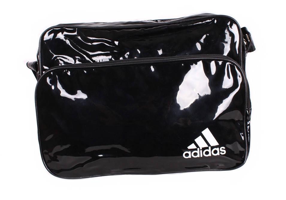 Лакированная сумка для мужчин