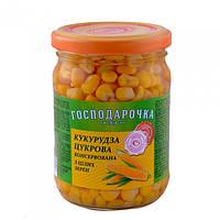 Кукуруза Господарочка Сахарная консервированная 250 г 912991
