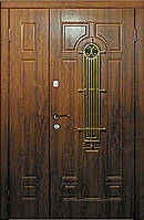 Двери входные полуторные Модель 110С серия Премиум