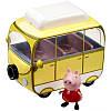 Игровой набор Peppa - ВЕСЕЛЫЙ КЕМПИНГ (автобус, фигурка Пеппы) (15561)