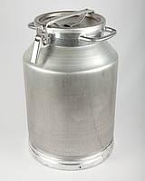 Бидон алюминиевый молочный объемом 40 литров пр-во Калитва