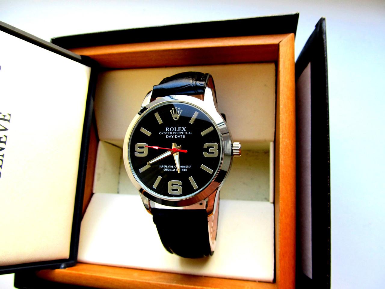 Мужские кварцевые часы Rolex Big Boss черные - Интернет - магазин MaxTrade  в Днепре 0fd4881533f
