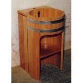 Умывальник из дерева, умывальник, ванна, душевая кабина