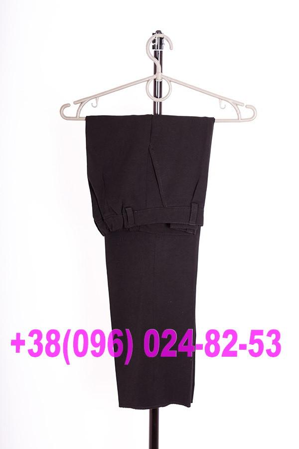 Школьные черные брюки для мальчиков, фото 1