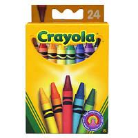 24 разноцветных стандартных восковых мелка, 3  (0024)