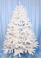 Елка искусственная литая белая 1.60 метра Белая метелица (elite class)