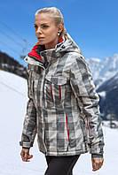 Куртка Freever св. серая квадрат женская 513