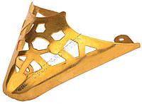 Мыски/носики металлические декоративные №6 Золото