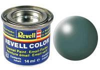 Краска № 364 цвета листвы шелковисто-матовая leaf green silk 14ml (32364)