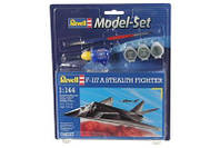 Model Set Самолет F-117 Stealth Fighter, 1:144 (64037)