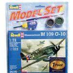 Model Set Самолет Messerschmitt Bf-109, 1:72 (64160)