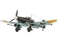 Бомбардировщик (1943г.,Герм.) Junkers Ju 87 G/D Tank Buster; 1:72 (04692), фото 1