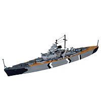 Model Set Линейный корабль (1939-1941гг.,Германия) Bismarck (65802)