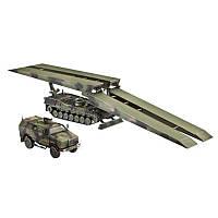 Базовая машина-мостоукладчик Bruckenlegepanzer Biber автомобиль ATF Dingo 11:72 (03192)