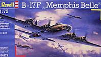 Самолет B-17F Memphis Belle 1:72 (04279)