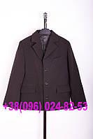 Школьный черный пиджак для мальчика, фото 1