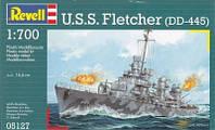 Сборная модель Revell U.S.S. Fletcher DD445 (05127)