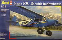 Лёгкий двухместный самолет Piper PA-18 with brushwheels (04890)