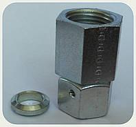 """Соединение измерительное для манометра с несъёмной гайкой (резьба 16х1.5 - 1/4"""")"""