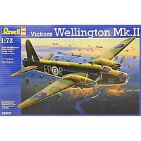 Двухмоторный бомбардировщик Vickers Wellington Mk.II, 1:72, Revell 04903 (04903)