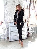 Пальто меховое куртка молодежная из каракуля и норки
